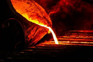 fonte d'acier