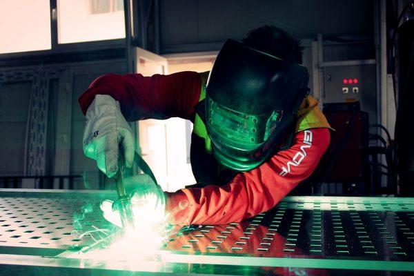travail industriel aluminium