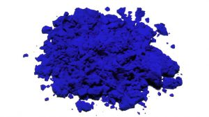 coloration au bleu de cobalt poudre