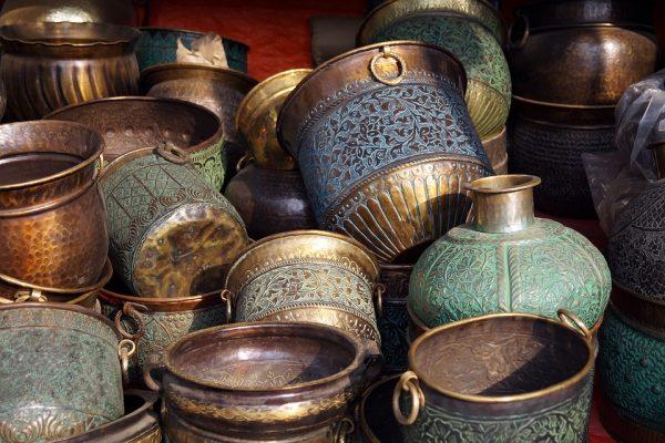 objets décoratifs cuivre