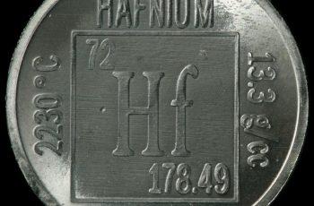 hafnium propriétés