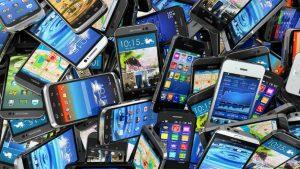 mine d'or dans les téléphones
