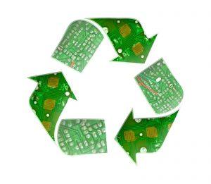 recyclage électroniques