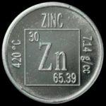 pièce zinc propriétés